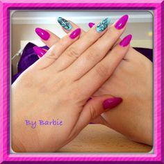 Purple&menta :)