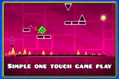 Geometry Dash, otro adictivo juego de esquivar obstáculos con un ligero toque de Flappy Bird