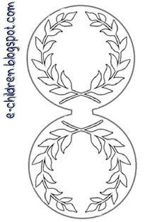 ΚΟΝΚΑΡΔΕΣ ΓΙΑ ΤΟ 1821 Shape Posters, Greek Language, 25 March, National Holidays, Craft Patterns, Crafts For Kids, Martini, Education, Blog