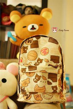 Rilakkuma backpack sweets cookies (o^^o)