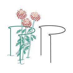 """Semi-Circular Plant Support - 15"""" diameter x 30"""" high, Model E662 by Bosmere. $15.99. Two 30"""" Legs. Model E662. Measures 30"""" High and 15"""" Diameter. The Semi-Circular Plant Support is made of durable metal and covered with a tough plastic. perfect for keeping flowers and smaller plants upright.. Save 23% Off!"""