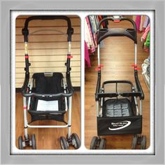 Graco and BabyTrend Snap-N-Go strollers. Kid to Kid price $37.99 each!
