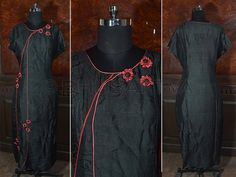 SW 3890 - ‪#‎Certified‬ ‪#‎organic‬ ‪#‎natural‬ dyed hand ‪#‎embroidered‬ ankle length ‪#‎kurta‬ ornamented with red ‪#‎embossed‬ ‪#‎flowers‬  BhuSattva - True Essence of Earth (www.bhusattva.com)  #‎BhuSattva‬ ‪#‎CertifiedOrganic‬ ‪#‎EcoFriendlyFashion‬ ‪#‎EcoFashionLifestyle‬ ‪#‎NaturalDyes‬ ‪#‎HerbalDyes‬ ‪#‎SociallyResponsibleLuxury‬ ‪#‎EmpoweringGenerations‬ ‪#‎WomenWear‬ ‪#‎DesignerWear‬ ‪#‎OrganicRevolution‬ ‪#‎ConscienceClothing‬