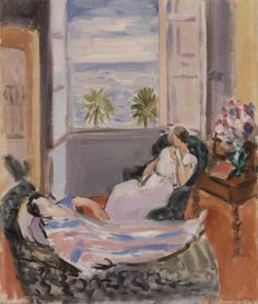 Interior with Two, Henri Matisse.