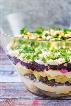 Sauerkraut, Up Halloween, Pasta, Delish, Cabbage, Salads, Food And Drink, Pudding, Vegetables