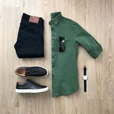 Outfit Ideas For Men: Hot Mens Fashion Style Outfits Ideas to Impress Your Girl Mens Casual Dress Outfits, Style Outfits, Stylish Mens Outfits, Men Dress, Fashion Outfits, Men's Fashion, Casual Attire, Lifestyle Fashion, Fashion Shirts