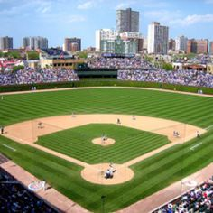 Wrigley Field home of the Scrubby Cubs.