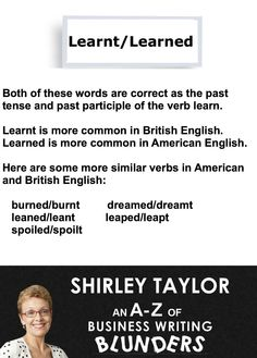 Typical errors in english writing