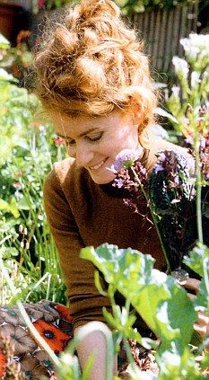 Alys Fowler. Many inspiration in life. Gardener and writer.
