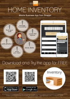 Snappii introduces its Home Inventory mobile app