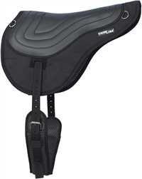 Black Thinline Comfort + Bareback Saddle Pad