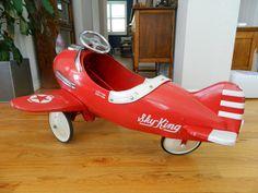 Rare Vintage Sky King Pedal Plane