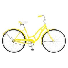 Schwinn Women's 26 L LEGACY YELLOW I seriously need to learn how to ride a bike - DON'T LAUGH AT ME!! I love this bike!!