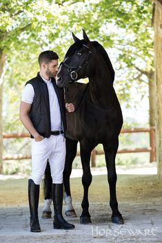 Horseware Platinum Collection S/S15: Aldo down gilet | Milano polo | Torino breeches | Unisex belt