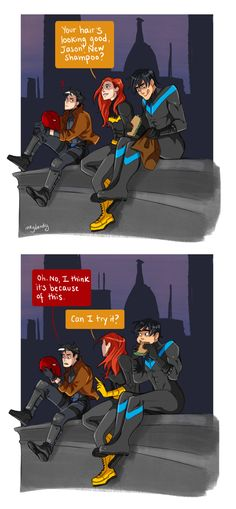 Dick Grayson!, Search results for: jason todd