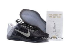 new product da33f 2144a Sale Kobe 11 XI Flyknit Anthracite Metallic Silver Grey New Arrival 2016