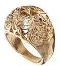 Asos Filigree Bubble Ring - Antique gold