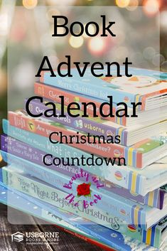Book Advent Calendar: Christmas Book Countdown - Beauty and the Book Christmas Books, 12 Days Of Christmas, Christmas Countdown, Merry Christmas, Create Your Own Book, Tis The Season, Advent Calendar, The Book, Beauty