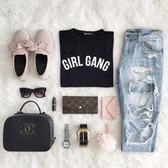 F A S H I O N // Girl Gang