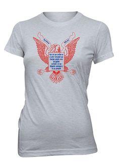 Renovar Fuerzas Aguila Isaias Versiculo Biblia Camiseta Cristiana Mujer