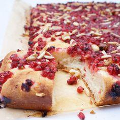 Johannisbeer-Zimt-Zucker-Butter-Kuchen vom Blech