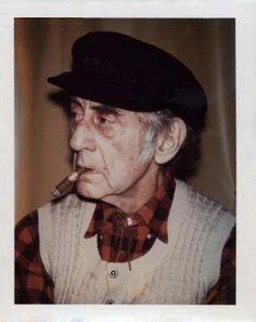Man Ray polaroid by Andy Warhol