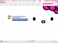 Hello Kitty Theme Chrome Theme - ThemeBeta