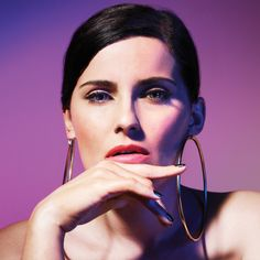 Nelly Furtado, Album Releases, Makeup Looks, That Look, Essentials, Hoop Earrings, Stars, Beautiful, Musica
