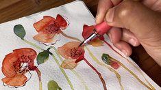 Realistic Flower Drawing, Simple Flower Drawing, Easy Flower Drawings, Flower Art, Watercolor Wallpaper, Watercolor And Ink, Watercolor Flowers, Watercolor Paintings, Watercolor Art Lessons