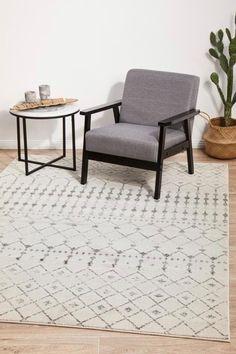 Trellis Pattern, Transitional Rugs, Geometric Rug, Australia Living, Modern Rugs, Interior Styling, Rug Size, Design Inspiration, Contemporary