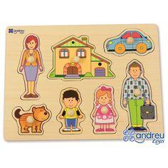 Купете Andreu toys - Пъзел Семейство