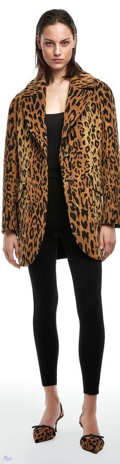 Eye For Beauty, Ermanno Scervino, Animal Fashion, Italian Fashion, Fashion Labels, Capes, Print Design, Blazer, Couture