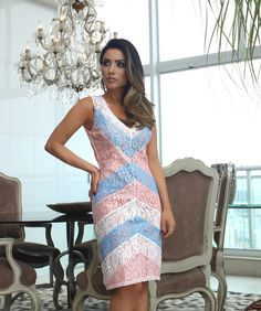 441 отметок «Нравится», 16 комментариев — Luzia Fazzolli (@luziafazzollioficial) в Instagram: «A linda @mariarosaguerra com nosso Dress bicolor em tom pastel que estão bombando nessa temporada.…»