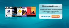 PlayStation Network: Broaden the Content you enjoy on your PS system with this convenient Network Card. www.pcgamesupply.com