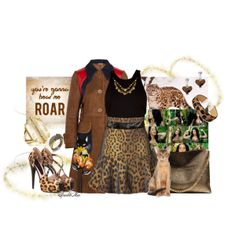 """""""ROAR"""" by sparklemar on Polyvore"""