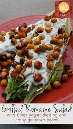 Grilled Romaine Salad Recipe from Whole Foods Market on Oracle