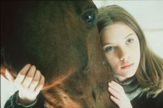 Scarlett Johansson in The Horse Whisperer, by Robert Redford Robert Redford, Young Actresses, Hollywood Actresses, In Hollywood, Scarlett Johansson, Jean Reno, Jeff Bridges, Gary Oldman, Diane Lane
