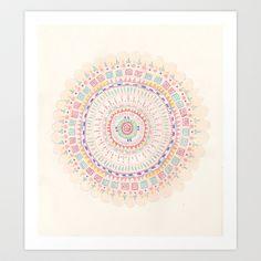 Mandala Art Print by Yes Menu - $14.56