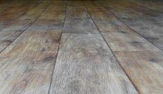Lino PVC imitation parquet chêne blanchi