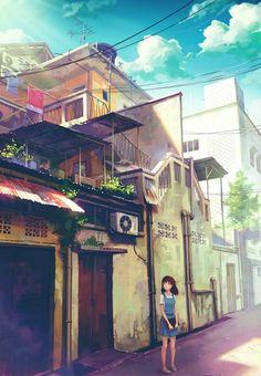 景色 Color of Scenery series