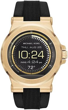 Michael Kors Access Dylan Touchscreen Smartwatch - Men Wrist Watch on YOOX. The best online selection of Wrist Watches Michael Kors Access. YOOX exclusive items of Italian and international designers - Secure payments Army Watches, Cool Watches, Watches For Men, Popular Watches, Stylish Watches, Women's Watches, Luxury Watches, Smartwatch, Apple Watch Accessories