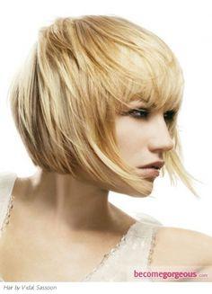 Short bob haircuts for women 2012 – 2013 Short Hairstyles 2016 - Modern Short Hairstyles, Blonde Bob Hairstyles, Medium Bob Hairstyles, Short Bob Haircuts, 2015 Hairstyles, Blonde Hair, Dark Hair, Modern Haircuts, Newest Hairstyles