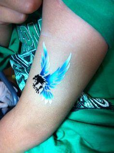 Eagle Airbrush Tattoo