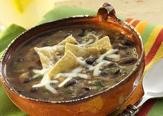 Simple Salsa - Black Bean Soup