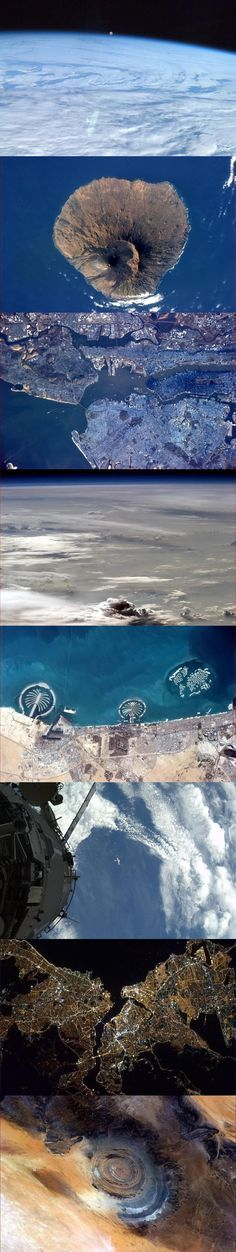 pictures from space.