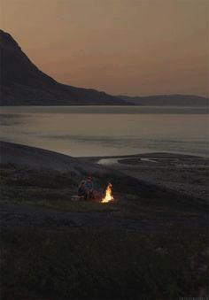 Campfire cinemagraph [gif]