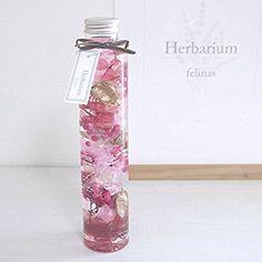 Amazon|開運ハーバリウム[丸瓶ピンクゴールド, 1本]2018 風水 金運 プリザーブドフラワー ドライフラワー 花 バレンタイン ホワイトデー 誕生日 お祝い 母の日 フラワーギフト プレゼントに最適です Herbarium/PinkGold|プリザーブドフラワー オンライン通販