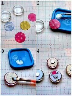 DIY magnets. I'm doing this and giving them as gifts and I'm going to act like they were expensive.