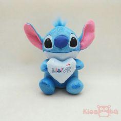 Boneka valentina stitch dengan hati biru. Silakan WA ke 081.5506.3337 utk info lbh lanjut. Lilo And Stitch, Smurfs, Film, Disney, Fictional Characters, Art, Lelo And Stich, Movie, Art Background
