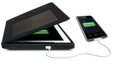 charge your ipad or ipod using the sun